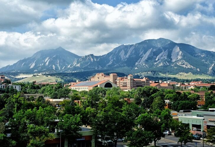 Mountains and nature-view in Boulder Colorado
