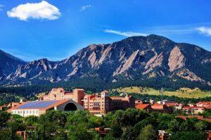 Outdoor View Of Boulder Colorado