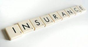 Letters spelling insurance
