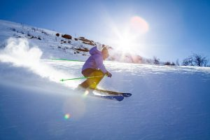 Man skiing during the day